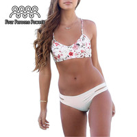TOP New Sexy Printing Bikini Set Women Swimsuit Brazilian Biquini Swimwear Bathing Suit Bikinis Beach Suit HD20 CF