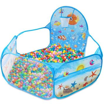 201 Hot Children Toys Tent Game Ball Pits Pool Foldable Children Ball Pool Outdoor Fun Sports Educational Toy