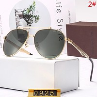 Louis Vuitton LV Fashion New Polarized Sunscreen Travel Glasses Eyeglasses Men