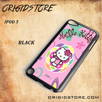 hello kitty 2 For Ipod 5 Case - Gift Present Multiple Choice