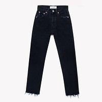 Black High Waisted Vintage Blogger Jeans