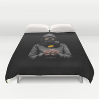 Toxic Hope Duvet Cover by Nicklas Gustafsson