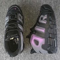 """Nike Air More Uptempo GS """"Reflective"""" Fashion and leisure sports shoes"""