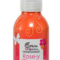 Rose-y Cheeks, Natural and Organic Luxe Cleansing Mist for Your Baby's Beautiful Bum; Super Soothing Spray-On No-Rinse Cleanser With Organic Rose Water, Calendula and Chamomile Extract