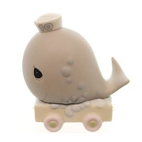 Precious Moments AGE 10 BIRTHDAY TRAIN Porcelain Sam Butcher Whale 142030