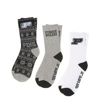 Purdue University 3-Pack Crew Socks - PINK - Victoria's Secret