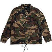 Camo Cruize Coach Jacket Camo