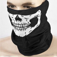 Halloween Horror Mask Skull Head Tease Party Props Festive Supplies Masquerade Mask High-quality Cloth Adults Children Mask