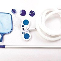 By PoolCentral Deluxe Swimming Pool Cleaning and Maintenance Kit