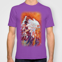 Native American T-shirt by Liliya_Chernaya