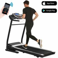 Folding Electric Jogging Treadmill with Smartphone APP Control, Power Motorized Fitness Walking Running Machine Exercise Trainer Equipment,incline(US Stock) - Walmart.com
