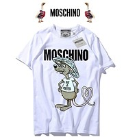Moschino Women Fashion Rabbit Tunic Shirt Top Blouse