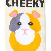 Cheeky Graphic Ankle Socks
