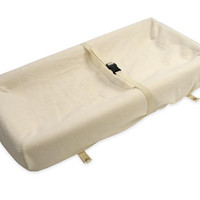 Organic Cotton Fitted Changing Pad Cover - 4 Sided