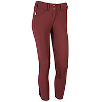 The Tailored Sportsman Trophy Hunter - Front Zip - Knee Patch Breeches from SmartPak Equine