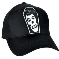 Misfits Skull Coffin Hat Baseball Cap Alternative Clothing