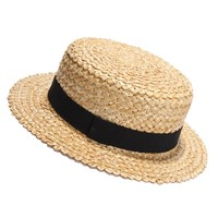 Men's Boater Hat