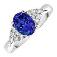 Diamonds International - Rings > Fashion > Safi Kilima - Tanzanite & Diamond Ring