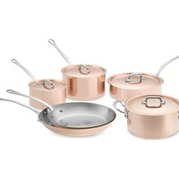 Mauviel M150S Copper 10-Piece Set