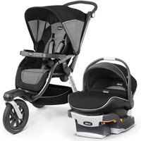 Chicco Activ3 Stroller w/ KeyFit 30 Zip Air Car Seat Travel System Q Collection