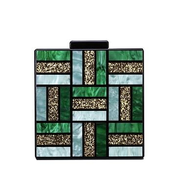 Evening Bag, Clutch, Luxury Square Bags