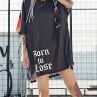 Graffiti Hoodie Dress tg