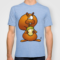 Squirrel T-shirt by Cardvibes