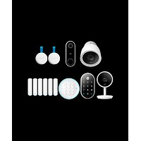 Nest Secure, Hello, Yale lock, Indoor IQ, Outdoor IQ bundle with 4 extra Nest Detects