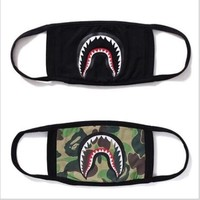 ca qiyif A Bathing Ape Face Mouth Mask Unisex Camo Anti Fog Protective Breathe Bape Masks