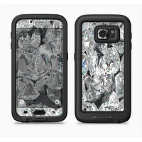 The Scattered Diamonds Full Body Samsung Galaxy S6 LifeProof Fre Case Skin Kit