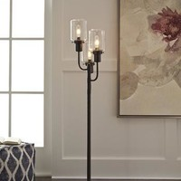 L207171 Jaak Metal Floor Lamp (1/CN) - Bronze Finish