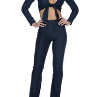 Joplin Two-Piece - Dark Rinse