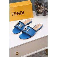 FENDI  Women Casual Shoes Boots fashionable casual leather Women Heels Sandal Shoes