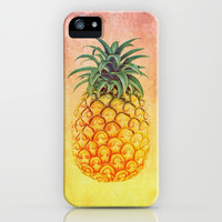 Pineapple - for iphone iPhone & iPod Case by Simone Morana Cyla