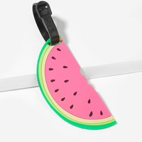 Watermelon Shaped Luggage Tag Card Holder