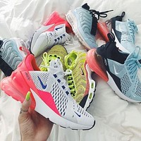 Nike Air Max 270 women The air cushion shoes-3