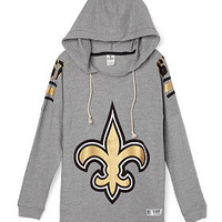New Orleans Saints Pullover Hoodie - PINK - Victoria's Secret