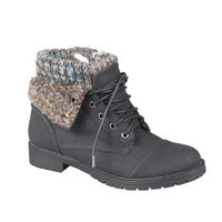 Refresh by Beston Women's 'Wynne-01' Lace-up Combat Boots | Overstock.com
