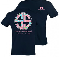 Simply Southern Logo Tee - Navy