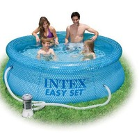 Intex 54911EG 8-Foot by 30-Inch Clearview Easy Set Pool with 110-120 Volt Filter Pump (Discontinued by Manufacturer)