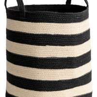 H&M Jute Storage Basket $17.99