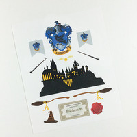 ECLP | Harry Potter | Ravenclaw House | 11 stickers
