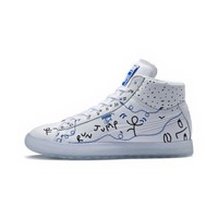 PUMA x SHANTELL MARTIN Clyde Mid Sneakers | Puma White-Puma White | PUMA PUMA X SHANTELL MARTIN | PUMA United States