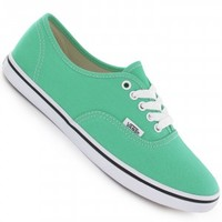 Vans Authentic Lo Pro Shoe girls (mint leaf true white) buy at skatedeluxe