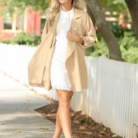 Made For Manhattan Camel Coat