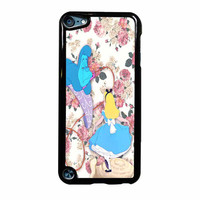Alice In Wonderland Floral iPod Touch 5th Generation Case