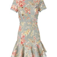 Zimmermann Mercer Flutter Floral Dress - INTERMIX®
