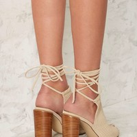 Urge Eve Leather Heel