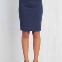 60s Mid-length Pencil No Pace Like London Skirt by Sugarhill Boutique from ModCloth