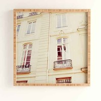 Chelsea Victoria For DENY Paris Windows Framed Wall Art